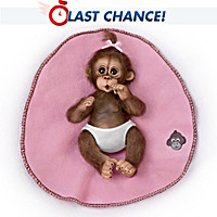 Bundle Of Joy Monkey Doll