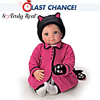 Little Kitten Lost Her Mitten Baby Doll