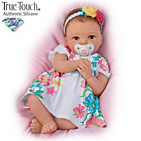 Presley TrueTouch Authentic Silicone Baby Doll