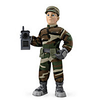 Everyday Heroes Military Max Plush Figure