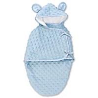 Blue Bear Bunting Baby Doll Accessory