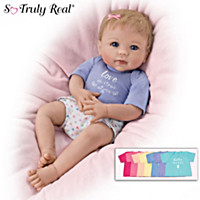 I Love You Today And Every Day Baby Doll And Accessories Set