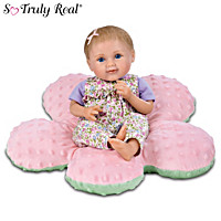 Allie Baby Doll And Pink Pillow Set