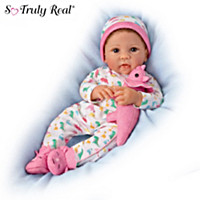 Skylar Baby Doll And Plush Dinosaur Set