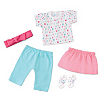 Mix And Match Baby Doll Accessory Set