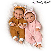 Oh Deer! The Twins Are Here! Baby Doll Set