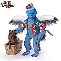 WINGED MONKEY And TOTO Portrait Figure Set