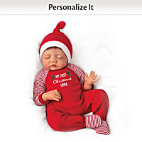 Baby Of Mine Christmas Personalized Baby Doll