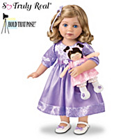 Natalie And Lulu Child Doll And Plush Doll Set