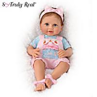 Peekaboo Bunny Baby Doll