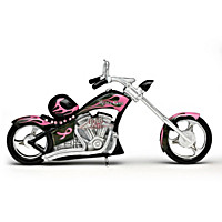 Fueled Up With Faith Motorcycle Figurine