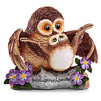 Owl Always Watch Over You Figurine