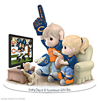 Every Day Is A Touchdown With You Bears Figurine