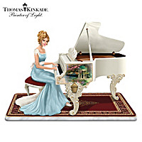 Thomas Kinkade A Musical Interlude Figurine