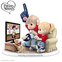 Every Day Is A Home Run With You Boston Red Sox Figurine