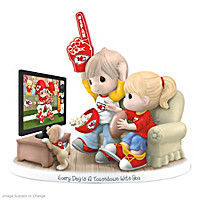 Every Day Is A Touchdown With You Chiefs Figurine