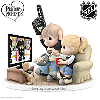 Every Day Is A Goal With You Penguins® Figurine
