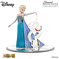 Disney Olaf\'s Personal Snow Flurries Figurine