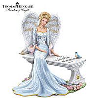 Thomas Kinkade Heaven\'s Embrace Figurine
