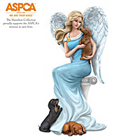 Dachshunds Give Paw-fect Heavenly Support Angel Figurine