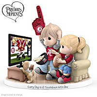 Every Day Is A Touchdown With You Crimson Tide Figurine