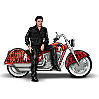Elvis Presley\'s Riding With The King Sculpture