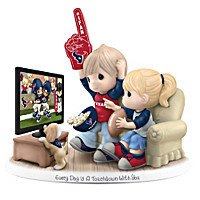 Every Day Is A Touchdown With You Texans Figurine