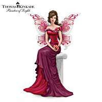 Thomas Kinkade The Heart Of Love Figurine