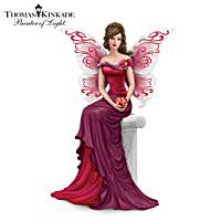 Thomas Kinkade The Heart Of Love Figurine