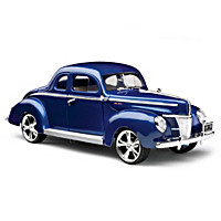 1:18-Scale Ford Deluxe 1940 Diecast Car