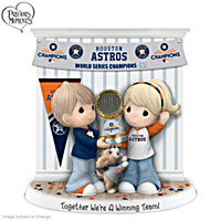 Together We\'re A Winning Team Houston Astros Figurine
