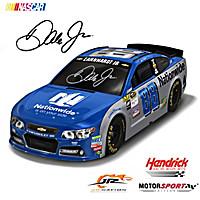 Dale Earnhardt Jr. 2016 #88 Nationwide Race Car Sculpture