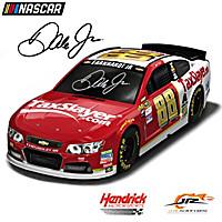 Dale Earnhardt Jr. #88 TaxSlayer.com Race Car Sculpture