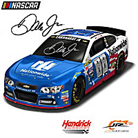 Dale Earnhardt Jr. #88 Stars & Stripes Race Car Sculpture