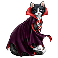 Count Cat-ula Figurine