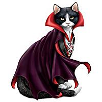 Count Cat-ula Figurine