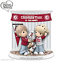 Together We\'re A Winning Team Crimson Tide Figurine