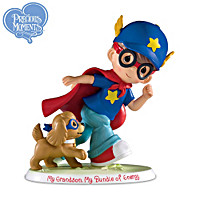 Precious Moments My Grandson, My Bundle Of Energy Figurine