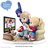 Every Day Is A Home Run With You Rangers Figurine