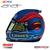 Jimmie Johnson #48 Superman Racing Helmet