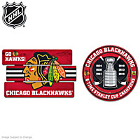 Chicago Blackhawks® Sign Wall Decor Set