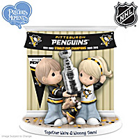 Together We\'re A Winning Team Penguins® Figurine