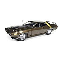 1:18-Scale 1971 Plymouth Road Runner Diecast Car