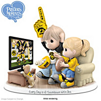 Every Day Is A Touchdown With You Iowa Hawkeyes Figurine