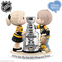 We\'re Side By Side With Penguins® Pride Figurine