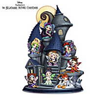 The Nightmare Before Christmas Castle Figurine Set