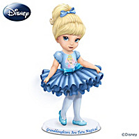 Disney Granddaughters Are Tutu Magical Figurine