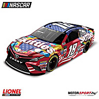 Kyle Busch No. 18 Skittles Red, White And Blue Diecast Car