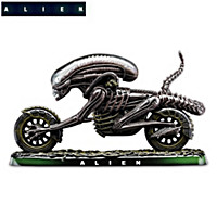Alien Scream Fantasy Chopper Sculpture