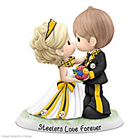 Precious Moments Steelers Love Forever Figurine